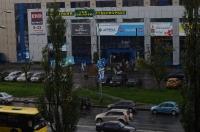 Метрополис в Киеве. Вид из окна