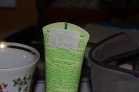 Тюбик из-под детского крема с наклейкой
