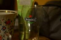 Стеклянный стакан Хайнекен