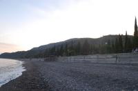 Пляж в Канаке перед закатом солнца
