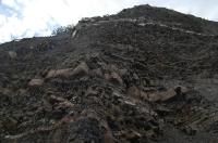 Структура склона горы в Канаке