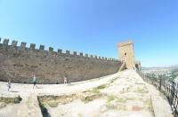 Генуэзская крепость. Башня коменданта крепости