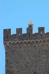 Генуэзская крепость. Фрагмент верхней части стены крепости