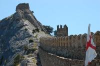 Последний рубеж защитников Генуэзской крепости