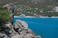 Курорт Новый Свет - береговая линия